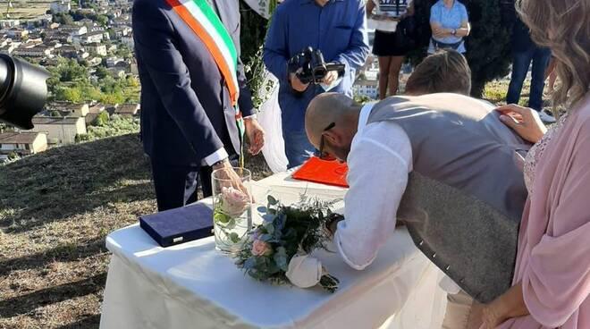 Porcari il primo matrimonio in Torretta
