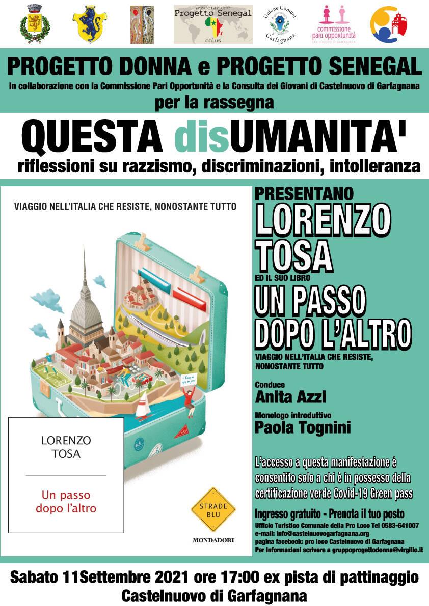 Presentazione libro Lorenzo Tosa a Castelnuovo