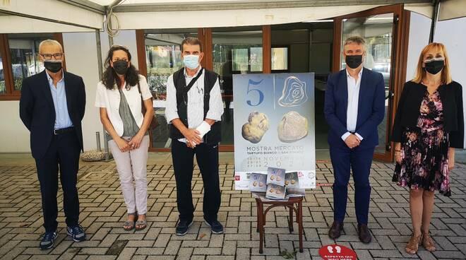 presentazione Sagra del tartufo bianco e del fungo porcino 2021 a la serra di san miniato