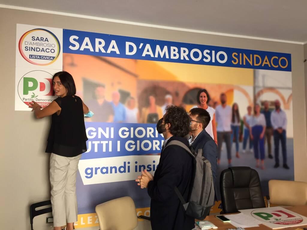 Presentazioni liste Pd e Sara D'Ambrosio sindaco elezioni Altopascio