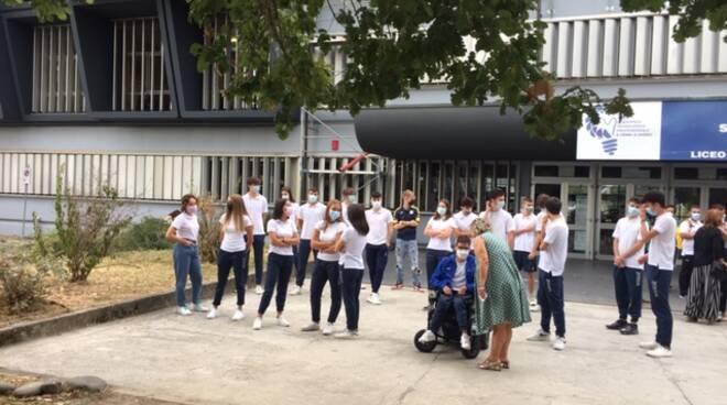 Prima campanella anno scolastico 2021/2022 al Fermi Lucca