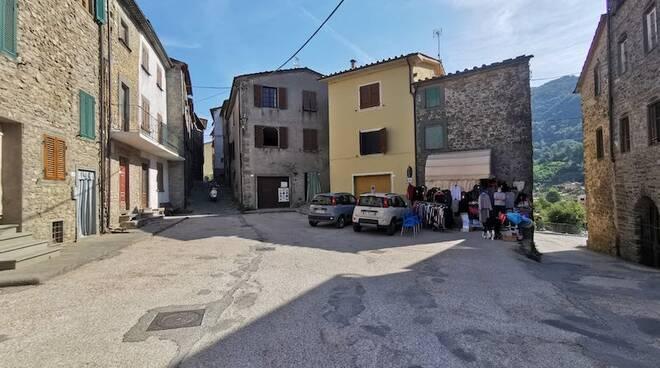 progetto nuova piazza Corsagna