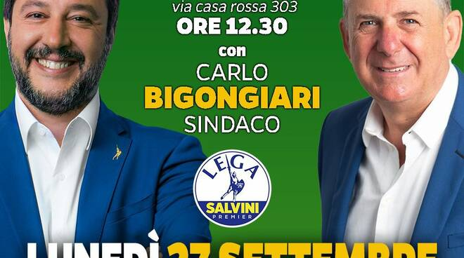 Salvini per Bigongiari