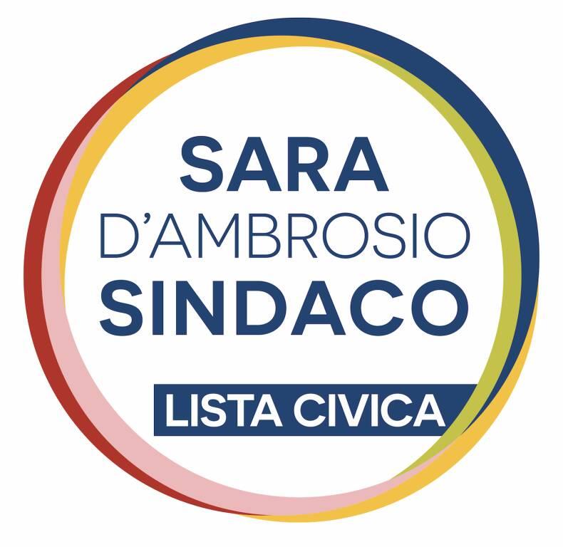 Simboli liste Sara D'Ambrosio sindaco centrosinistra Altopascio