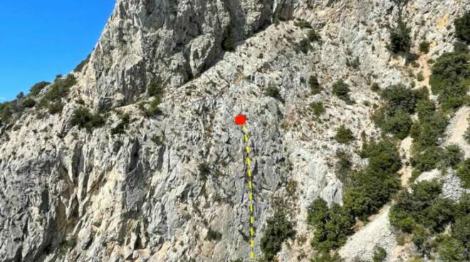 soccorso alpino su Argentario