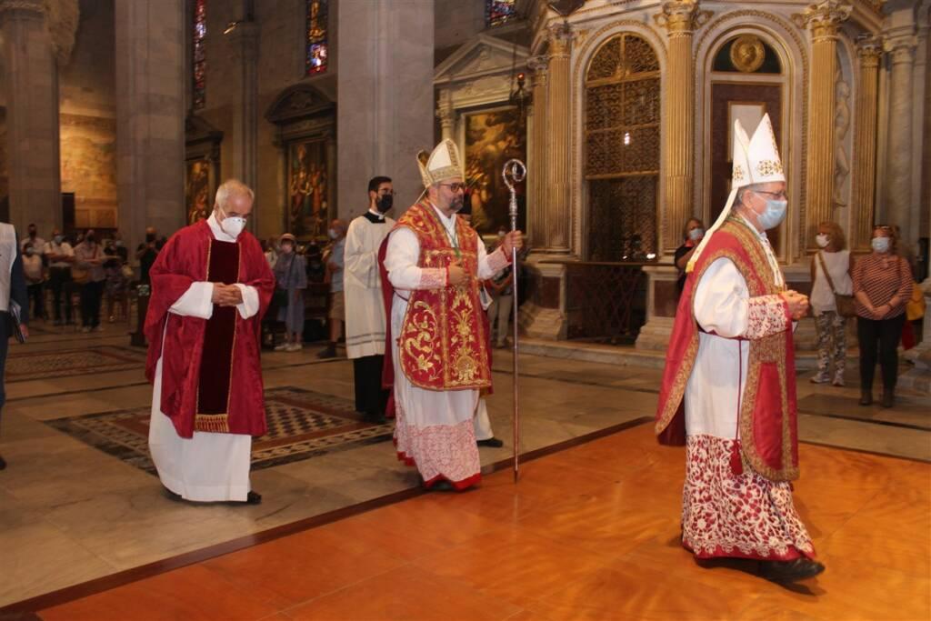 Solenne Pontificale Lucca Santa Croce 2021