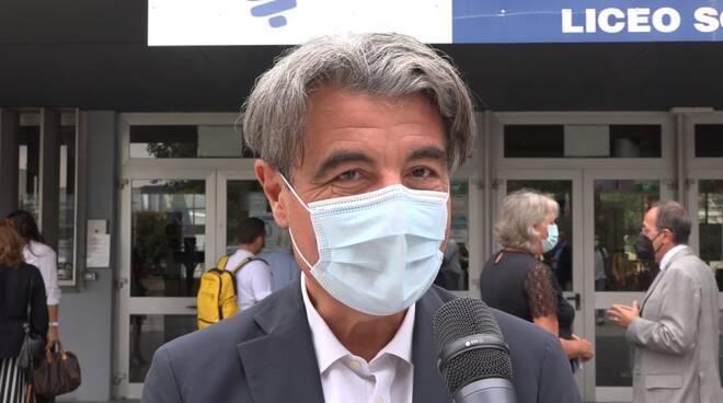 Stefano Baccelli mascherina