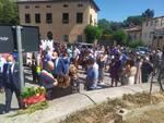 targa per Eugenio Viviani a Santa Maria del Giudice