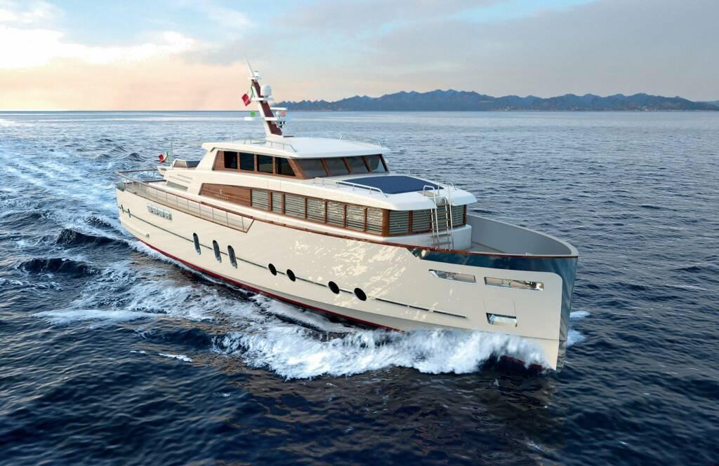 Yacht tascabile Codecasa