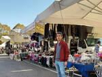 alessio giovarruscio confcommercio al mercato di santa croce sull'arno