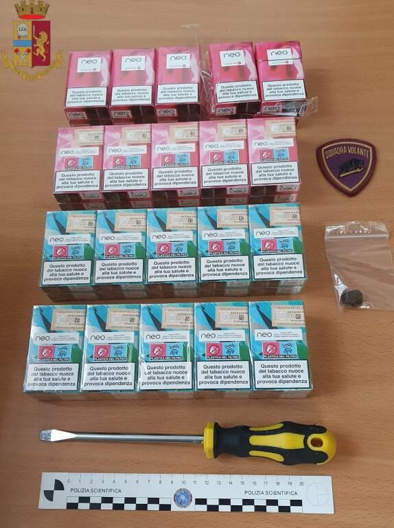 cacciavite sigarette dubbia provenienza Lucca polizia