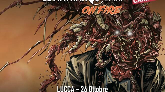 Leviathan Labs ON FIRE: Il tour della casa editrice di fumetti arriva a Lucca!