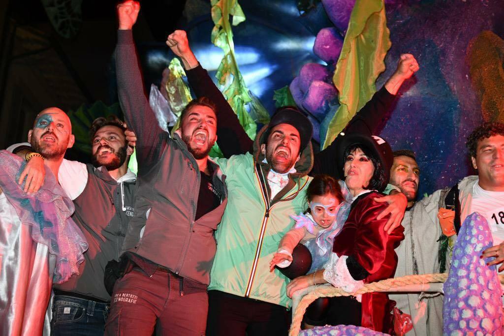 Carnevale di Viareggio i vincitori di prima e seconda categoria