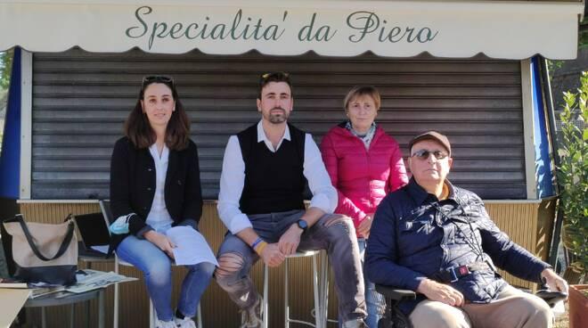 chiosco Da Piero conferenza stampa chiusura