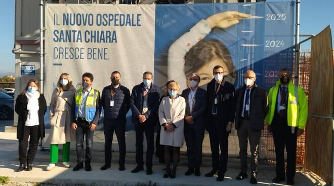 Cisanello nuovo ospedale Santa Chiara