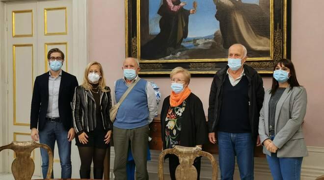 Fasm Lucca conferenza stampa marcia sulle Mura