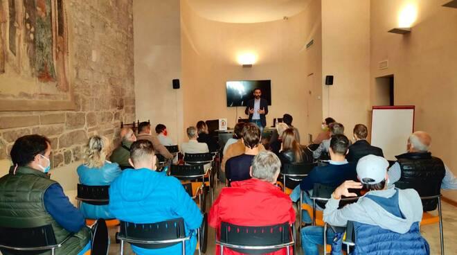 Francesco Raspini e Lucca Futura