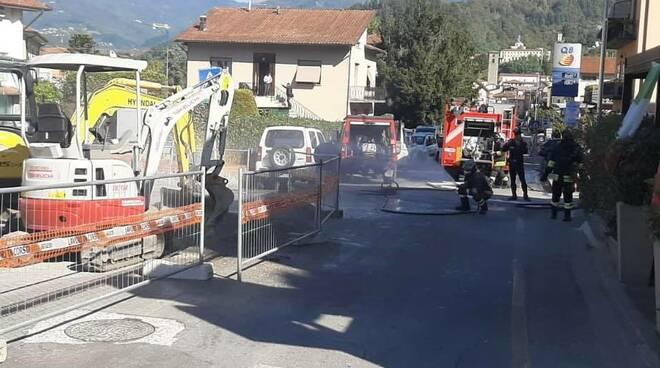 fuga di gas Castelnuovo via Nicola Fabrizi