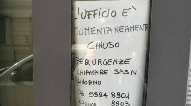 sanità marittima uff di Viareggio chiuso