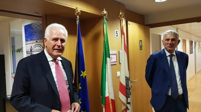 Giani Benassi ambasciatore Ue Toscana