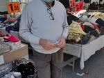 giovanni mallia confcommercio al mercato di santa croce sull'arno