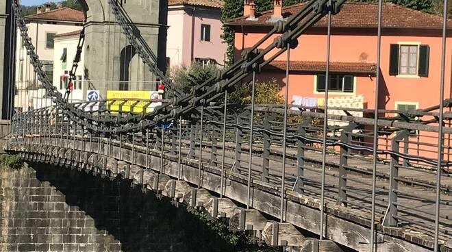 Lavori ponte delle Catene
