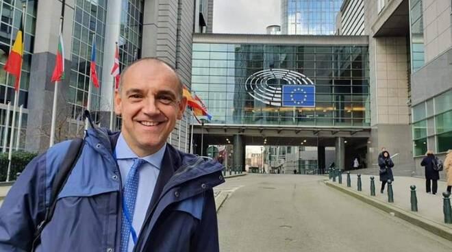 Luca Menesini a Bruxelles