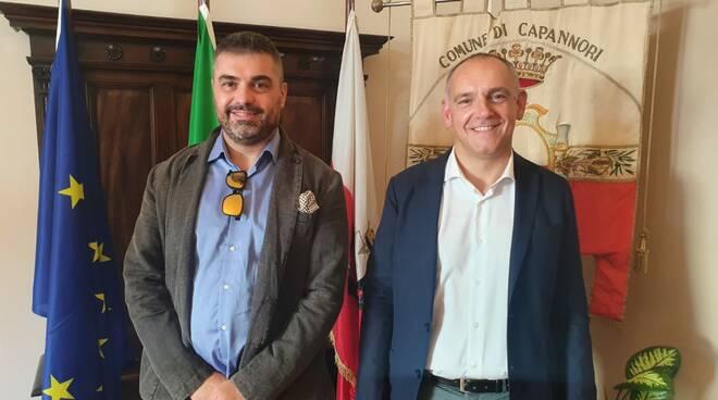 Luca Menesini con Daniele Berti