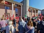 manifestazione Cgil Lucca