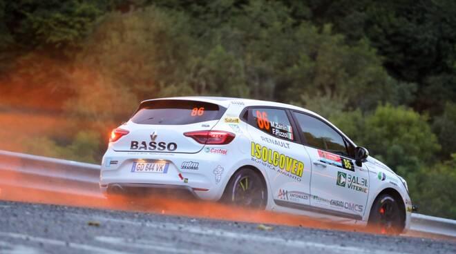 Mattia Zanin Renaul Clio Rally R5