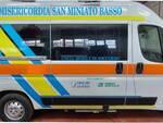 nuova ambulanza misericordia san miniato basso finanziata da credit agricole e fondazione cassa di risparmio di san miniato