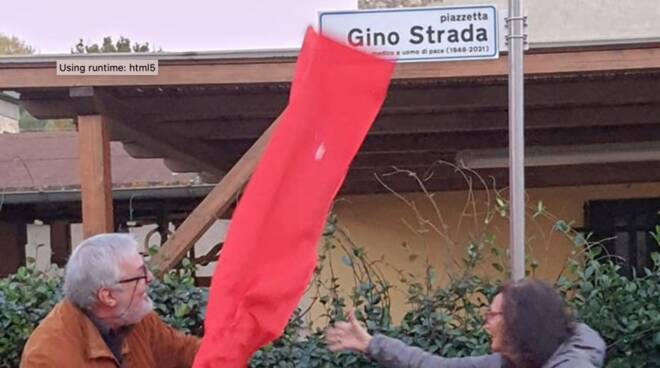 piazzetta Gino Strada Verciano