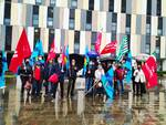 protesta dei sindacati al san luca