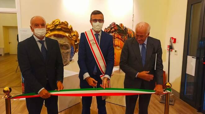 Scart, il lato bello e utile del rifiuto. Dante e la Divina Commedia progetto artistico del Gruppo Hera inaugurato a Firenze