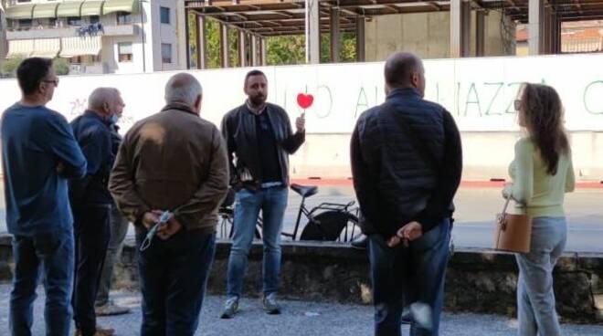 sopralluogo Barsanti Difendere Lucca San Concordio