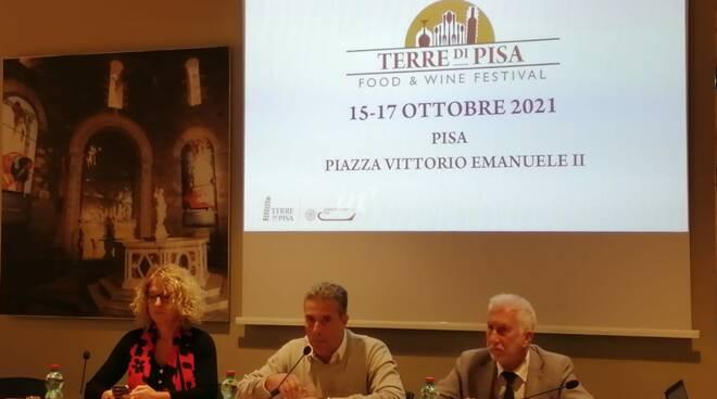 terre di pisa food & wine presentazione edizione 2021