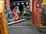 vigili del fuoco incidente sul lavoro